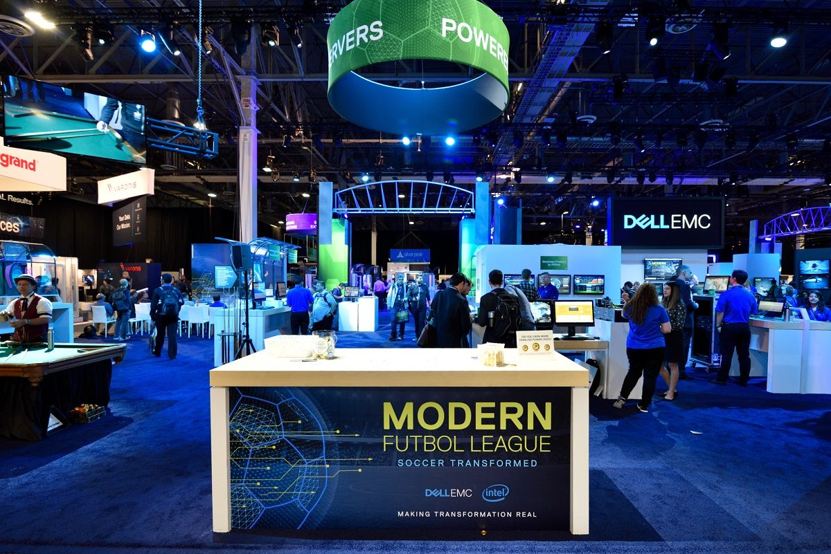 Dell-Technologies-World-2018-ISG-Trade-Show-Booth-design-experiential