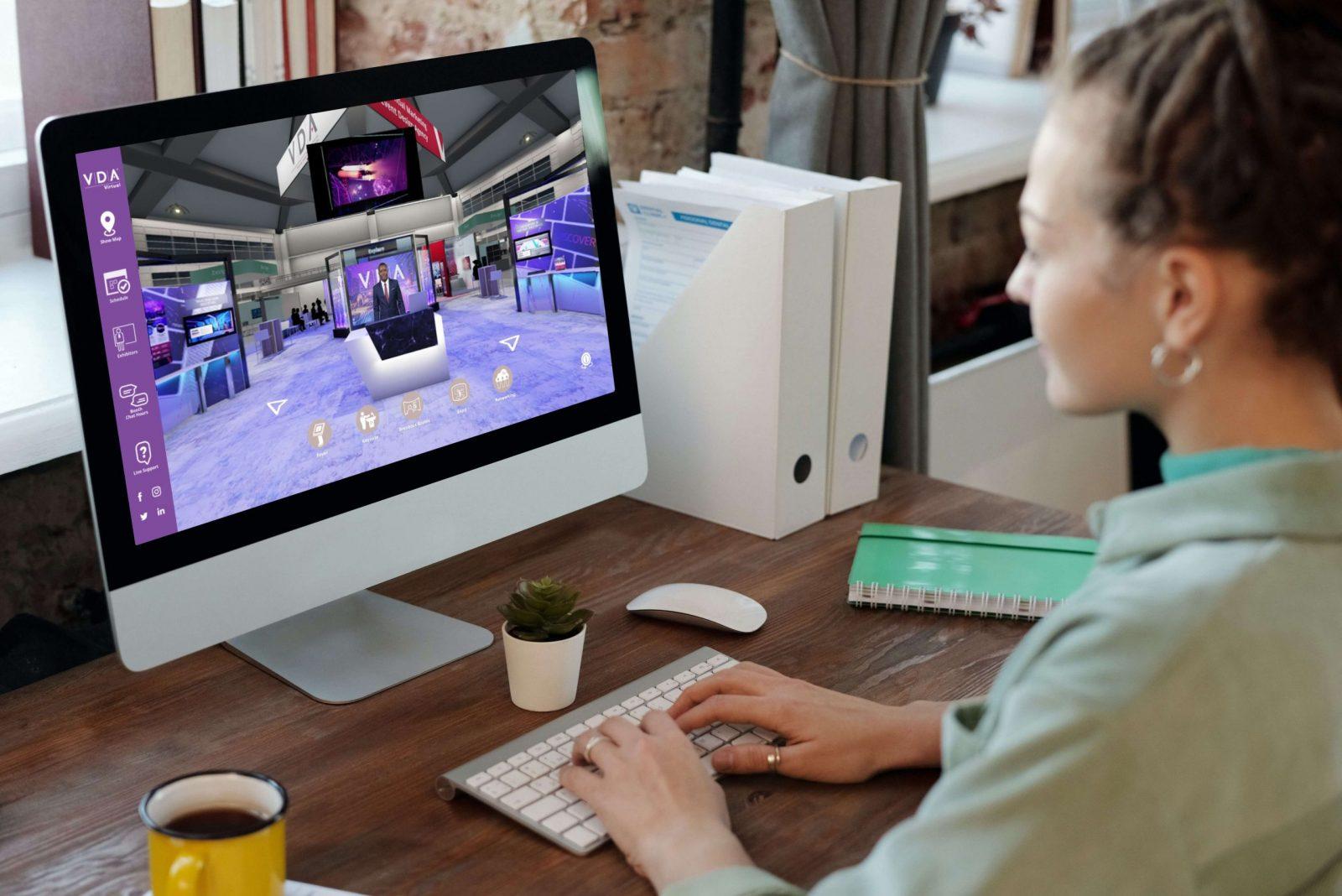 3D Virtual Trade Show - VDA Virtual - Hybrid Events Solution