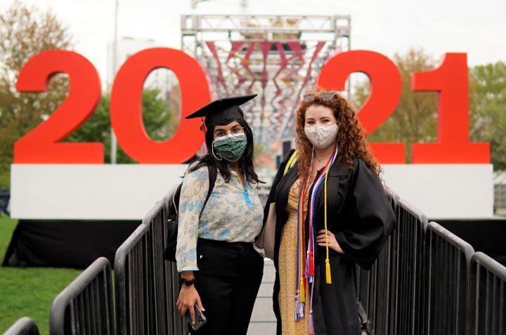 Northeastern University Campus Installation Commencement Week 2021
