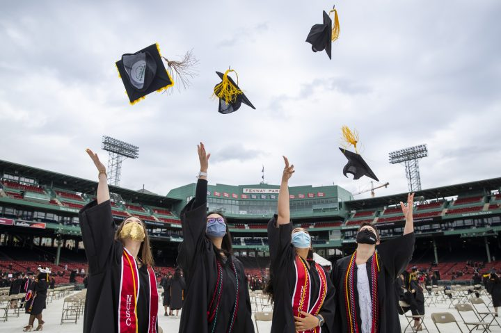 Northeastern University Commencement 2021 - Higher Education Event Design and Production - VDA